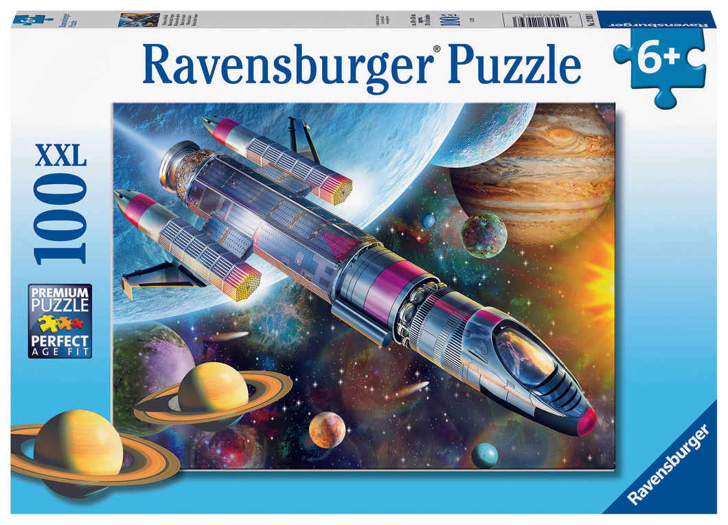 Ravensburger 100 Piece Jigsaw Puzzle - Mission In Space