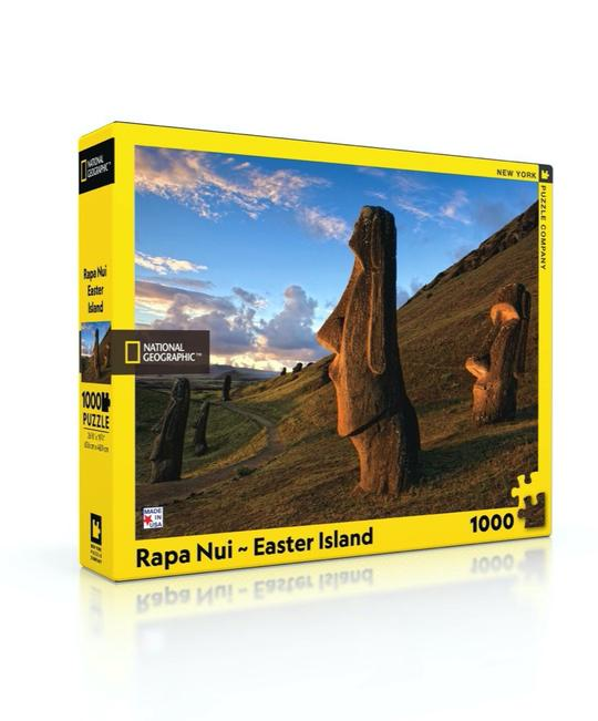 New York Puzzle 1000 Piece Jigsaw Puzzle - Rapa Nui Easter Island