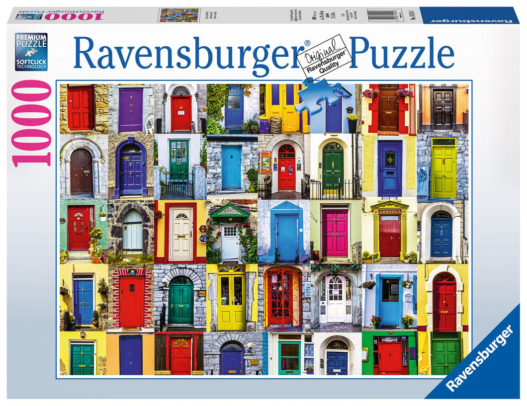Ravensburger 1000 Piece Jigsaw Puzzle - Doors of the World