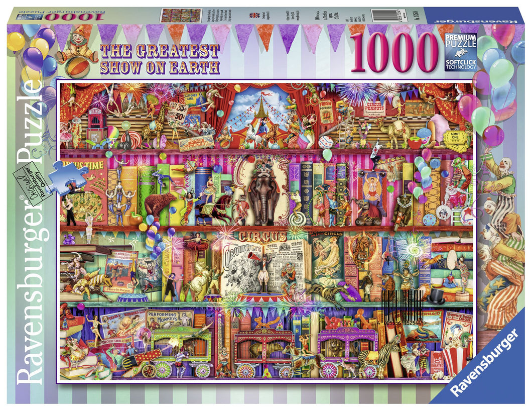 Ravensburger 1000 Piece Jigsaw Puzzle - The Greatest Show On Earth
