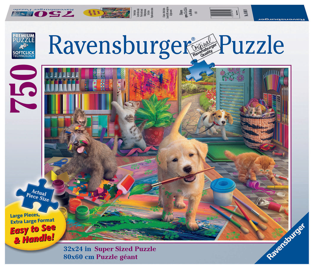 Ravensburger 750 Piece Jigsaw Puzzle - Cute Crafters