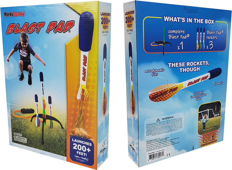 Marky Sparky Blast Pad Rocket Launcher