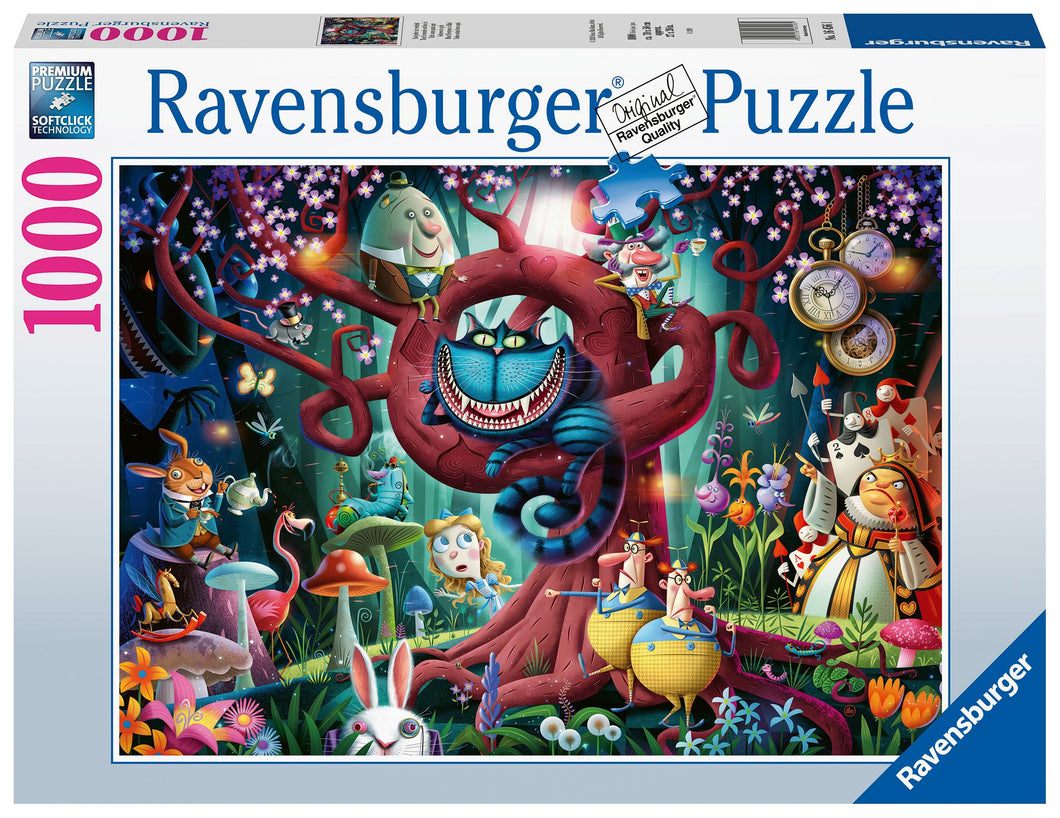 Ravensburger 1000 Piece Jigsaw Puzzle - Most Everyone Is Mad