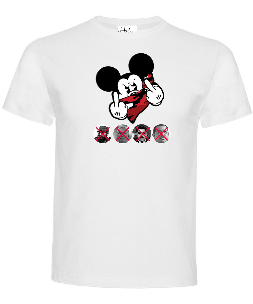 Camiseta cubana anticomunista 🖕🏼Mickey Mouse 🖕🏼