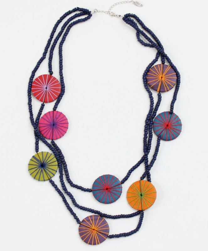 Sylca Designs - Leilani Necklace - Artemisia Artwear