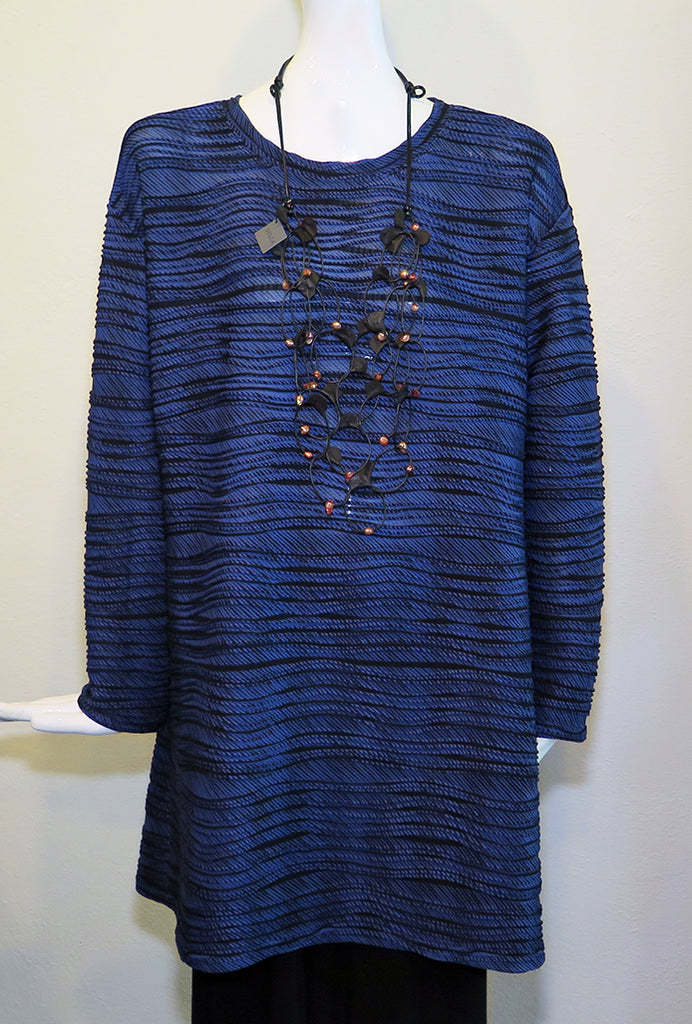 Christopher Calvin - Blue Wave Tunic - Artemisia Artwear