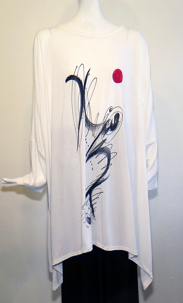 Dilemma - Art Inspired Knit Tunic - Artemisia Artwear