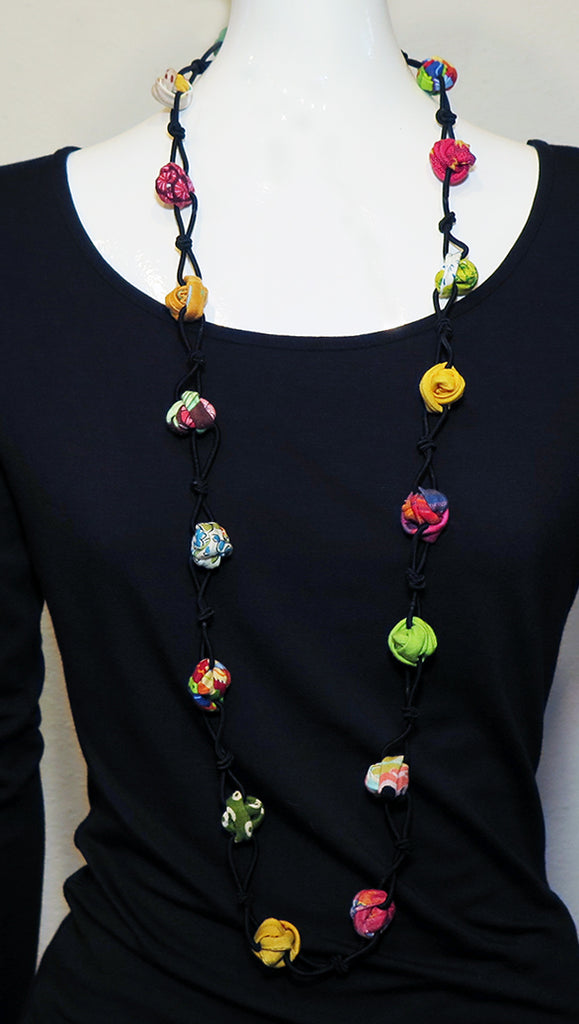 Ficklesticks - Rosebuds and Knots Necklace - Artemisia Artwear
