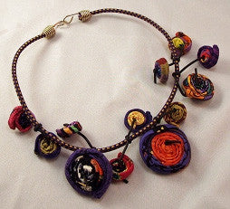 Ficklesticks - Bouncy Barbara Necklace - Artemisia Artwear