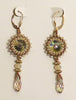 Hattie Newman - Swarovski Crystal and Bead Earrings