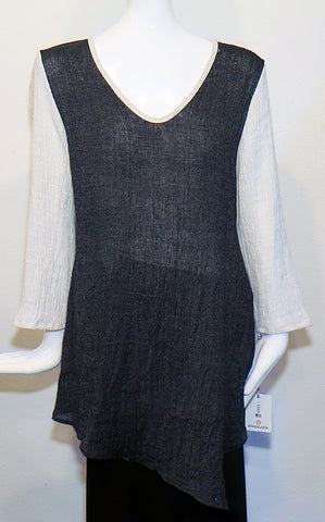 Khangura - Salt & Pepper Tunic