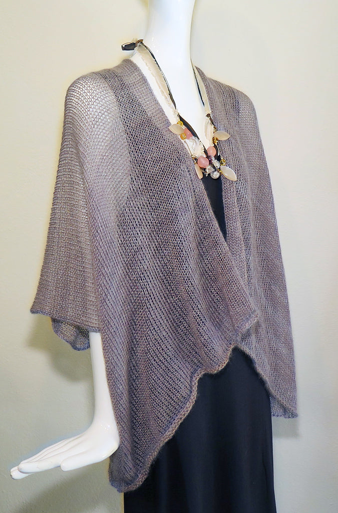 KNIT - Mohair/Silk Knit Cardigan - Artemisia Artwear
