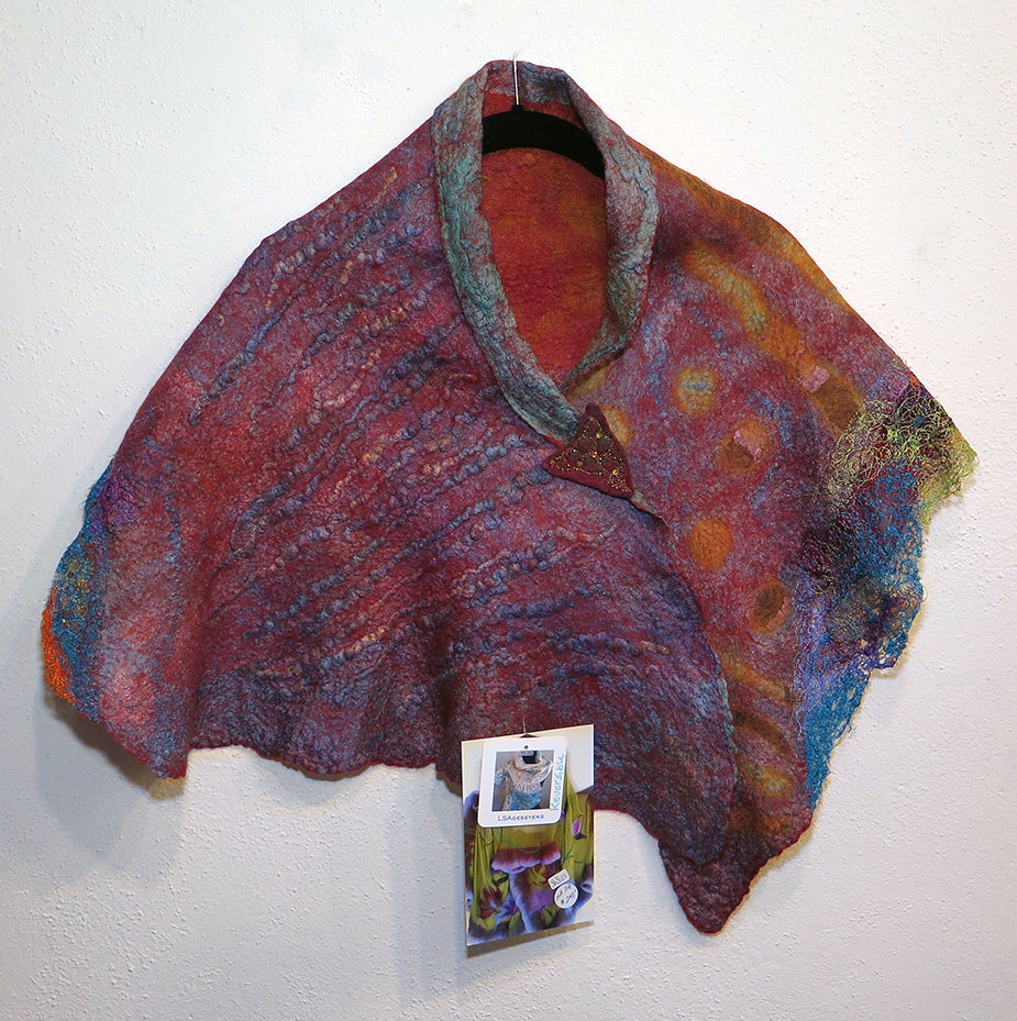 Linda St. Angelo - Shoulder Shawl - Artemisia Artwear