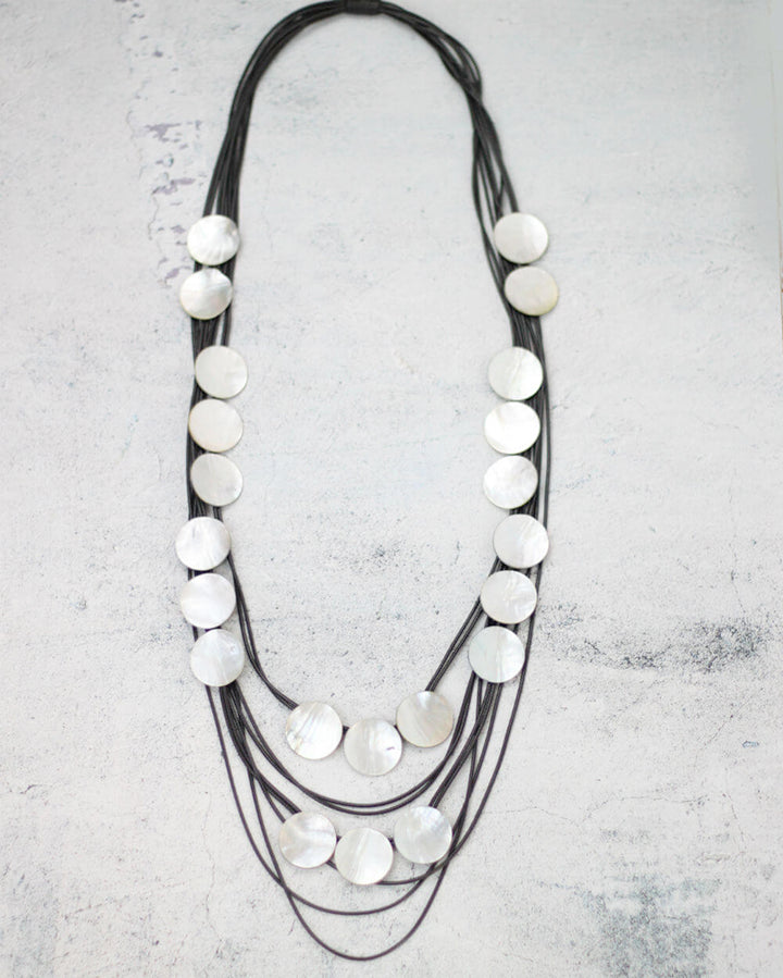 Sylca Designs - Liana Necklace - Artemisia Artwear