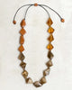 Sylca Designs - Tri Color Resin Bead Necklace