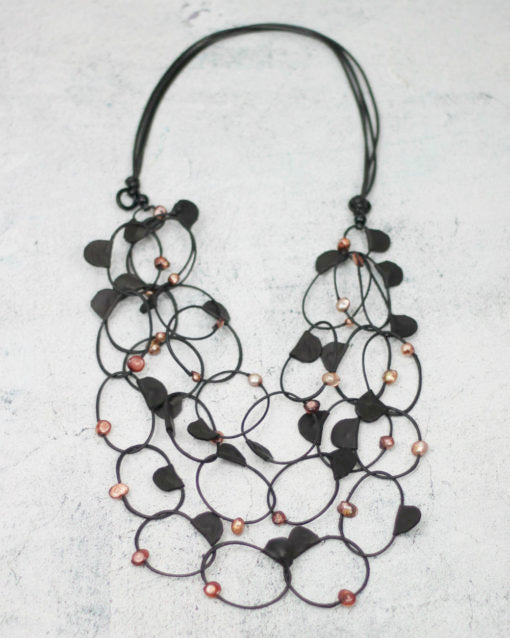 Sylca Designs - Sadie Loop Necklace - Artemisia Artwear