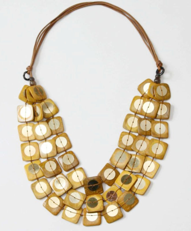 Sylca Designs - Lela Necklace - Artemisia Artwear
