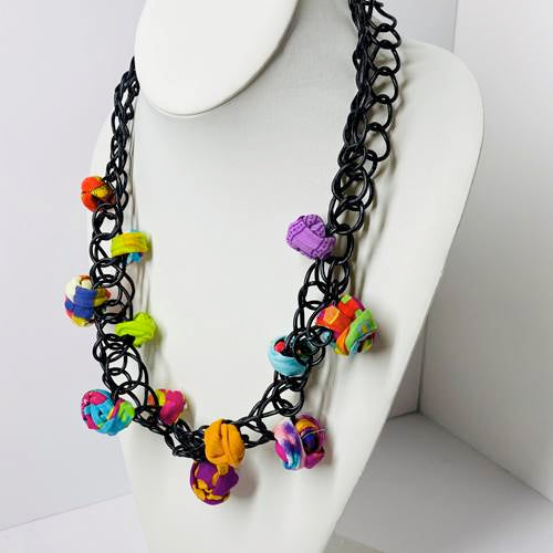 Ficklesticks - Scribbles & Balls Necklace - Artemisia Artwear