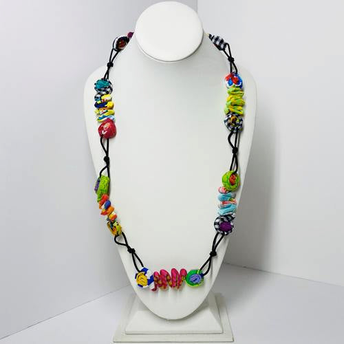 Ficklesticks - Zig Zag Necklace - Artemisia Artwear
