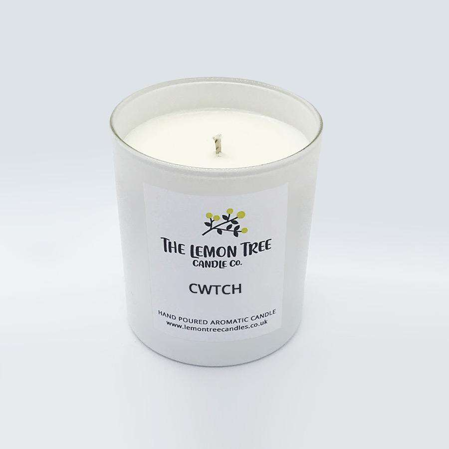 Cwtch - Dark Honey & Vanilla  candle - The Lemon Tree Candle Company