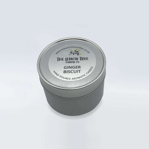 Ginger Biscuit Tin - The Lemon Tree Candle Company