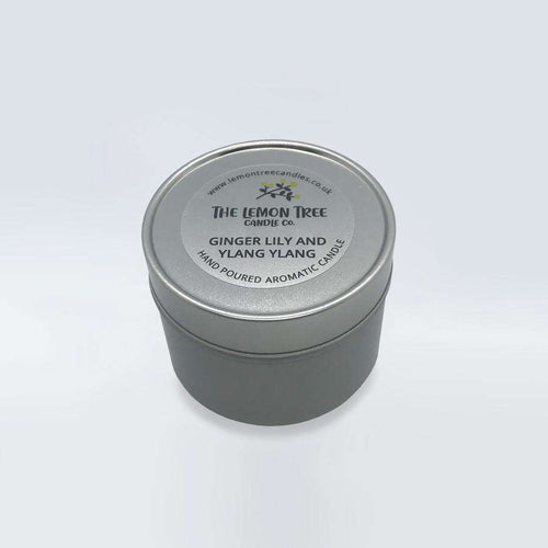 Ginger Lily & Ylang Ylang Essential Oil Tin - The Lemon Tree Candle Company