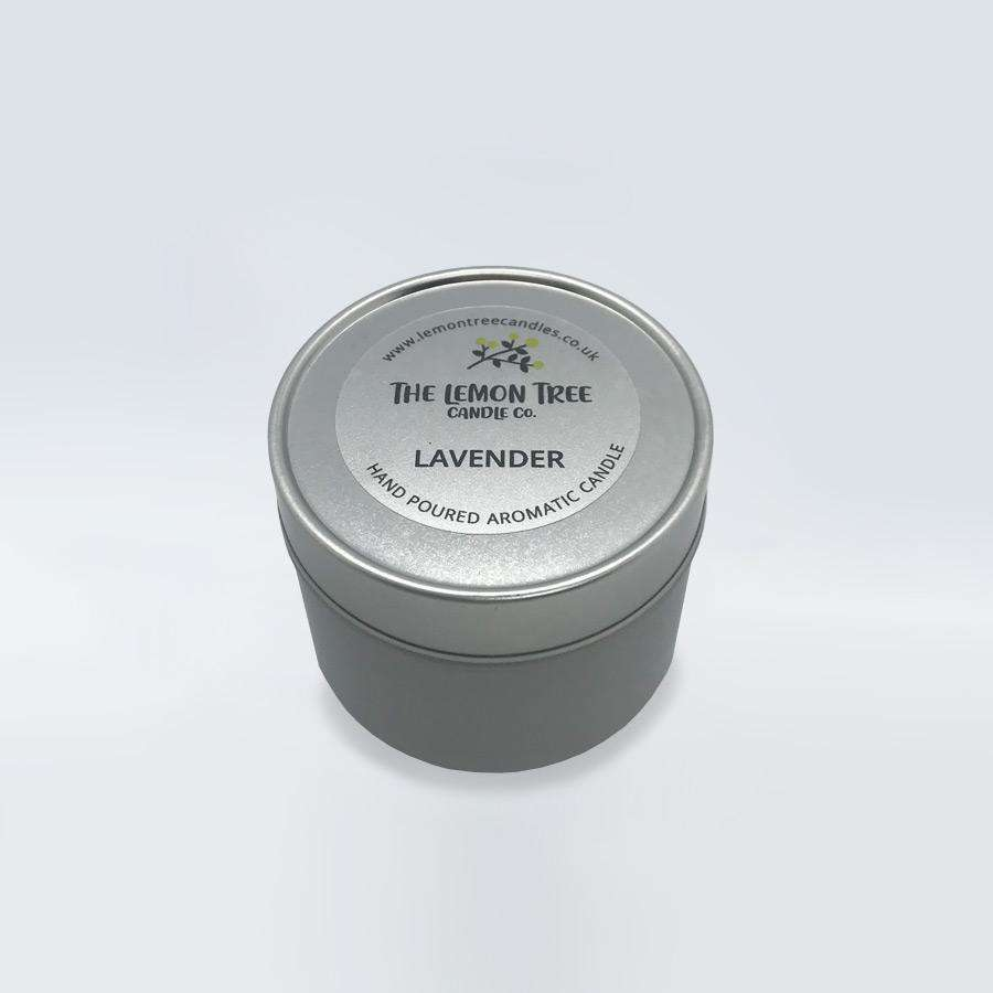 Lavender Essential Oil Tin - The Lemon Tree Candle Company