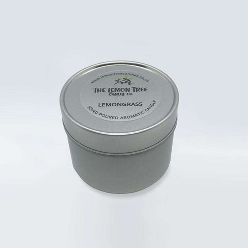 Lemongrass Essential Oil Tin - The Lemon Tree Candle Company