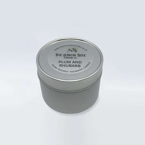 Plum & Rhubarb Tin - The Lemon Tree Candle Company