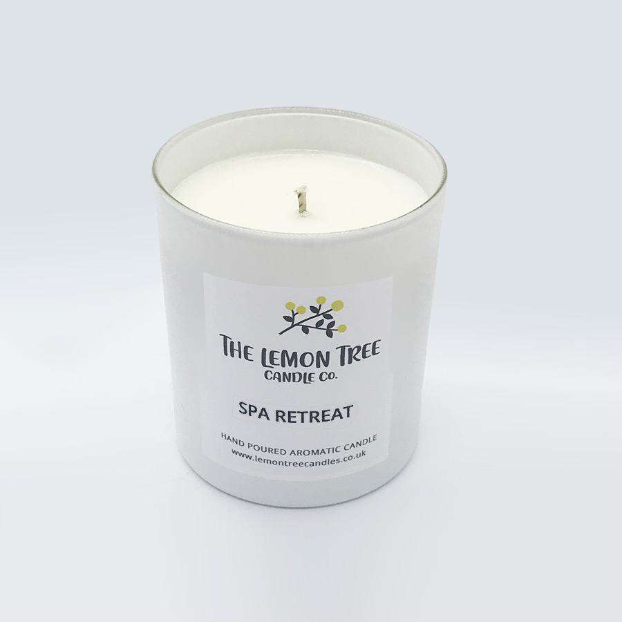 Spa Retreat candle - The Lemon Tree Candle Company