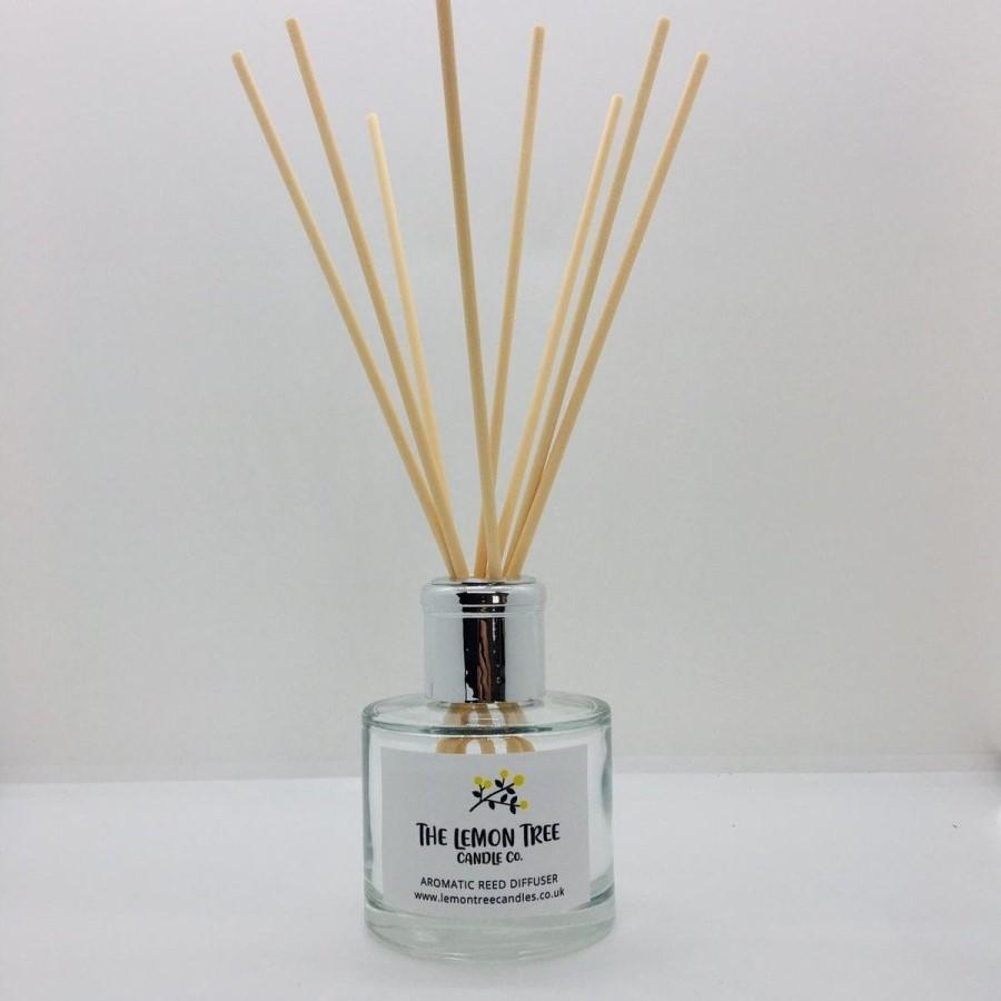 Cwtch Natural Reed Diffuser - Dark Honey & Vanilla - The Lemon Tree Candle Company