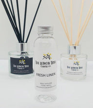 Load image into Gallery viewer, Fresh Linen Diffuser Refill 100ml - The Lemon Tree Candle Company