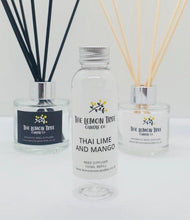 Load image into Gallery viewer, Thai Lime & Mango Diffuser Refill 100ml - The Lemon Tree Candle Company
