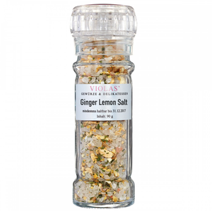Ginger - lemon salt