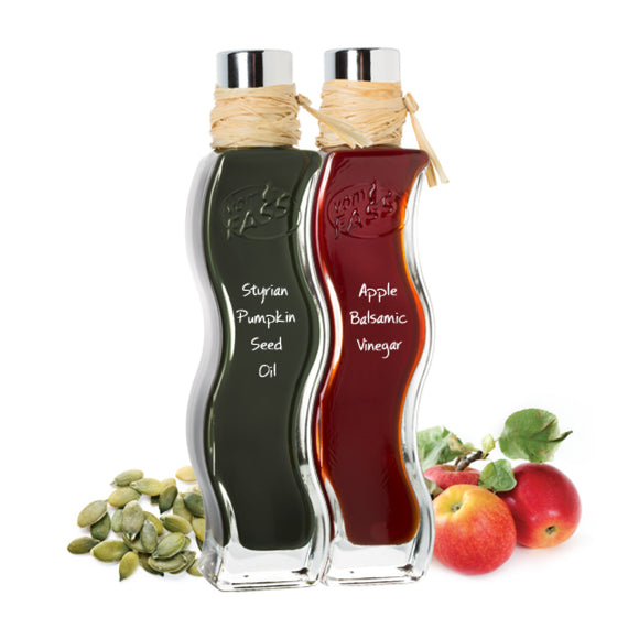 FassZination Styrian Pumpkin Seed Oil & Apple Balsamic Vinegar Quadra Onda Set