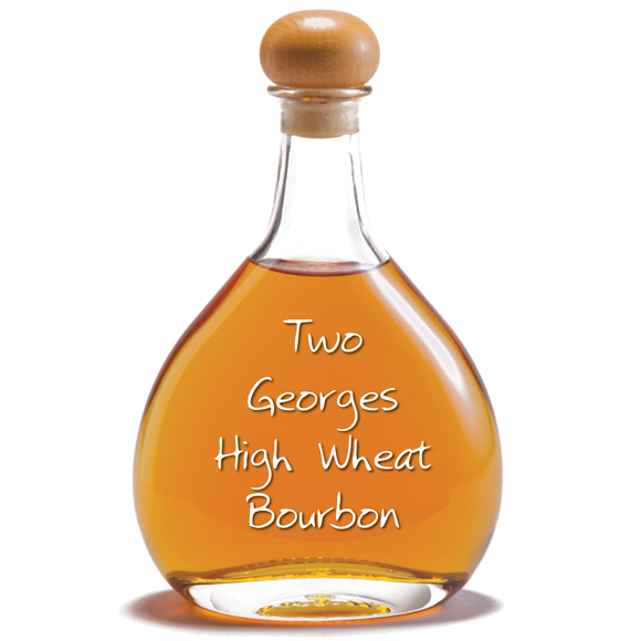 Two Georges High Wheat Bourbon Whiskey