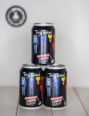 Super Hero Landing Stout 13%