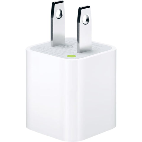 Cargador de pared de 5 W para iPhone, iPod o iPad