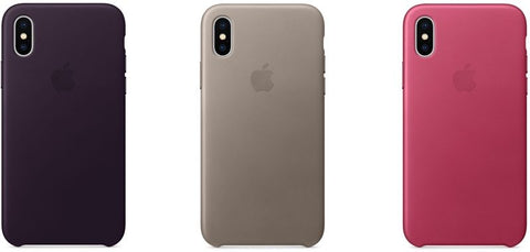 Leather case para iPhone X