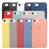Silicone case para iPhone 8, 8 Plus, 7 y 7 Plus