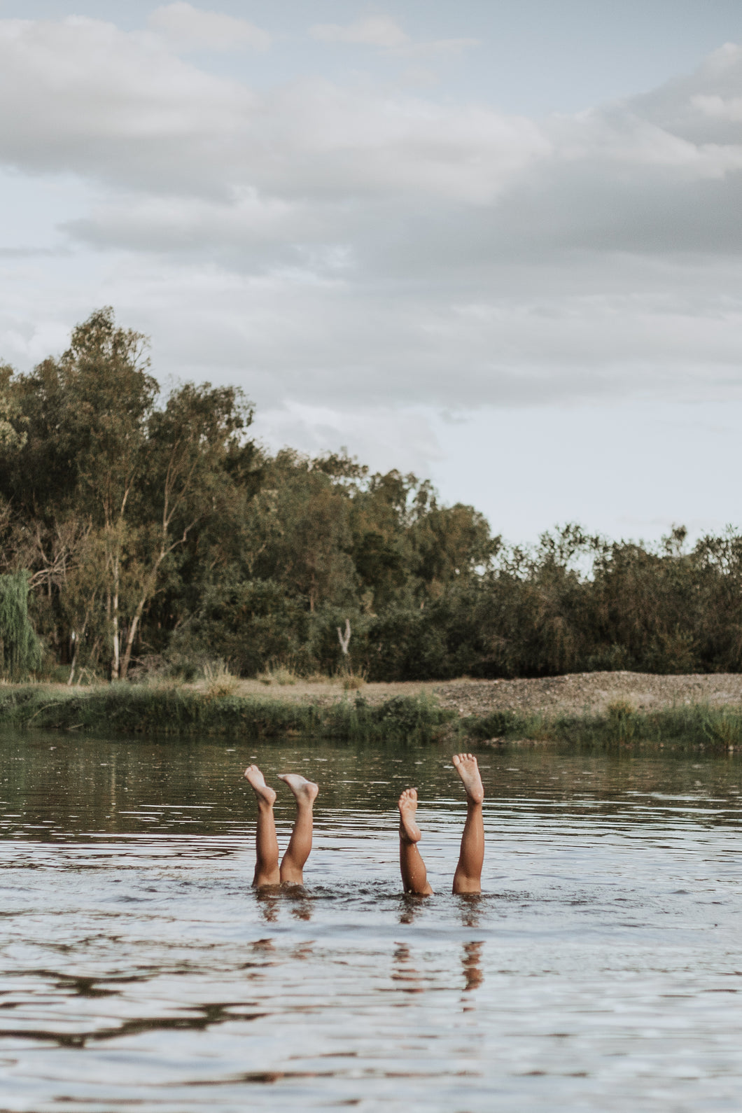 Photographic Art Print: 'Handstand Competition'