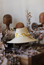 Load image into Gallery viewer, Raffia Sun Hat by Fiona Schofield Milliner