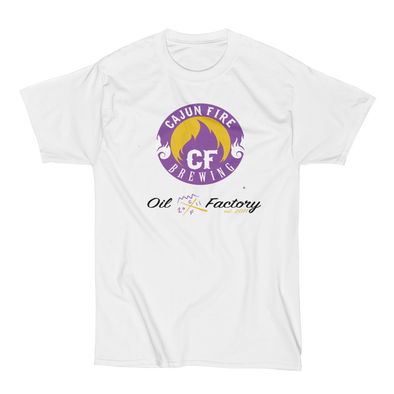 Omega Psi Phi Fraternity Inc. Conclave 2018 Edition - Cajun Fire Oil Factory - BEEFY TEE