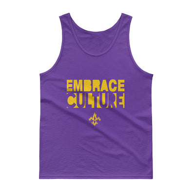 Embrace Culture Men's Tank Tops - Yellow Gold
