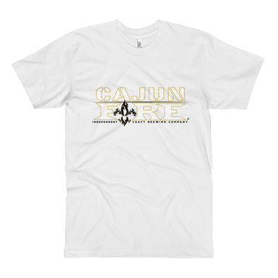 Cajun Fire - ALL SAINTS WHITE - Unisex Fine Jersey - TALL TEE