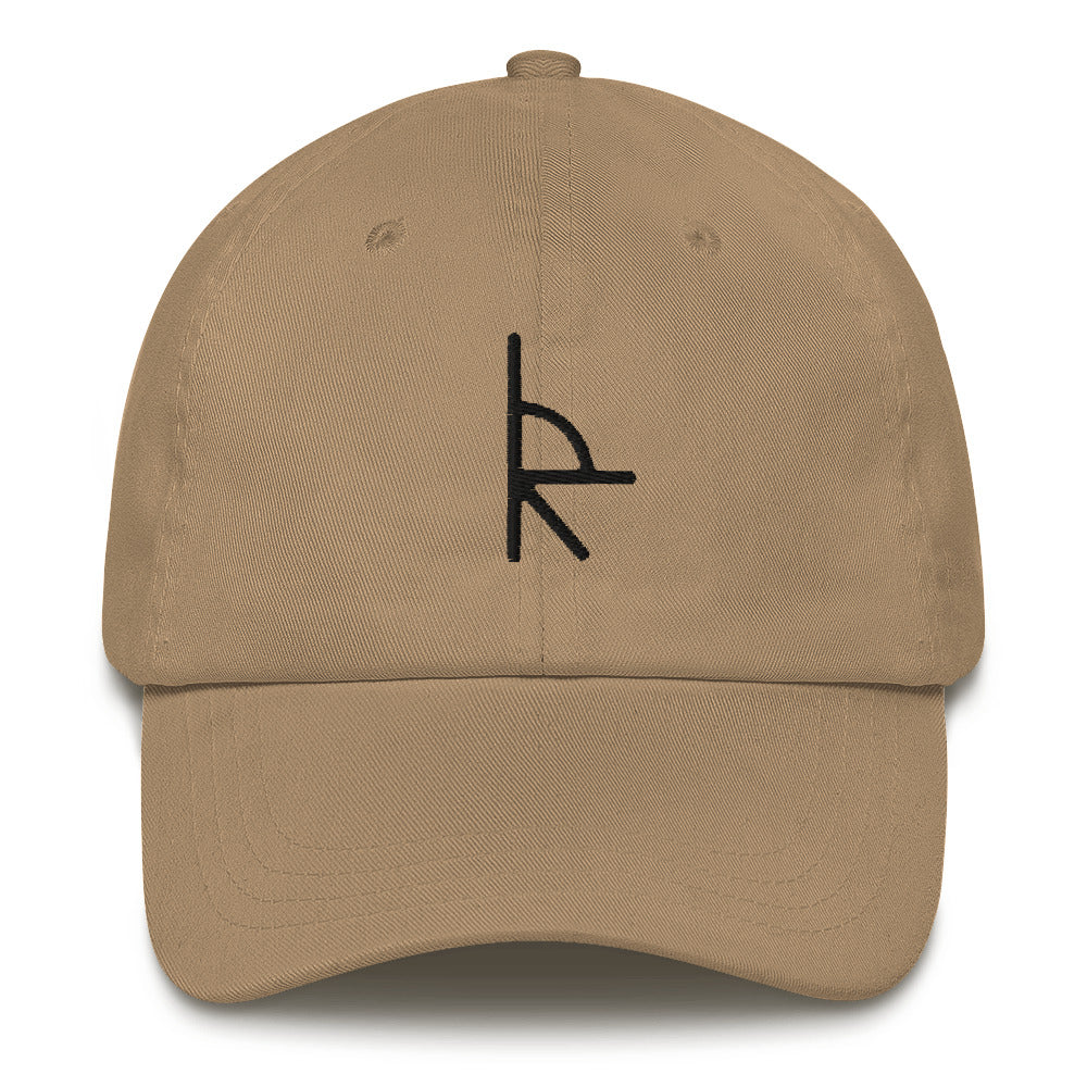 Lone River Branded Baseball Hat - Upland Brown