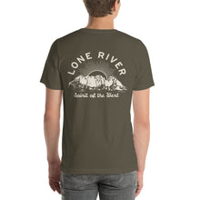 Load image into Gallery viewer, Lone River Ranch Water Sunset T-Shirt