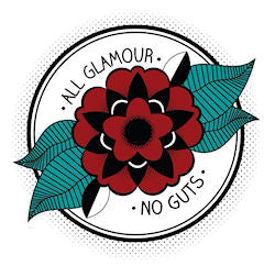 All Glamour, No Guts logo