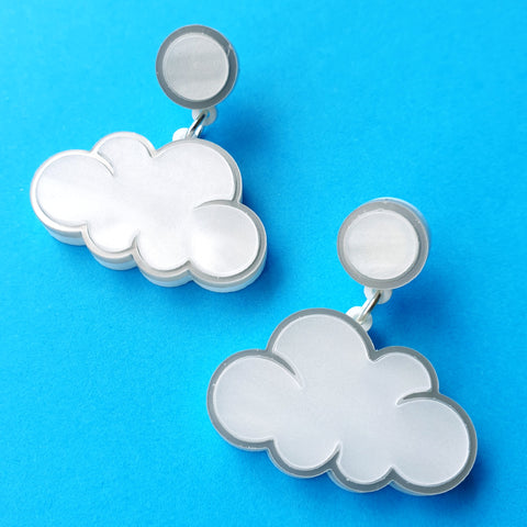Silver Lining Earrings