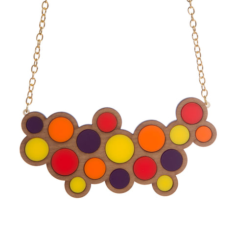 Circles Statement Necklace
